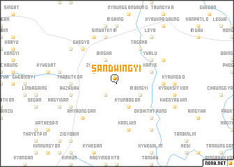 map of Sandwingyi
