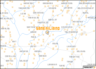 map of San Emiliano