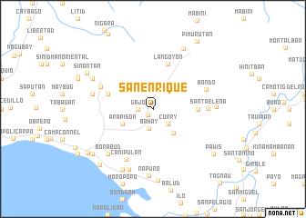 map of San Enrique