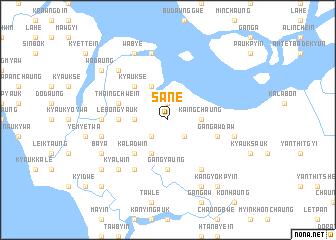 map of Sane
