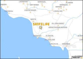 San Felipe Mexico Map Nona Net