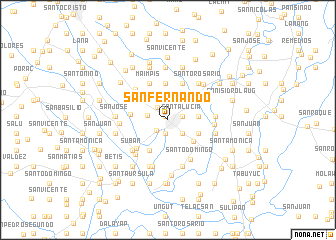 San Fernando Philippines map nonanet