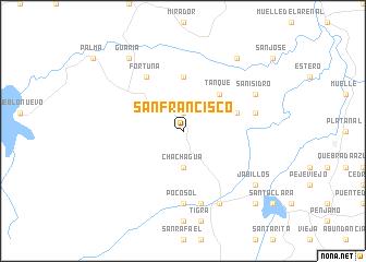 San Francisco Costa Rica map nonanet