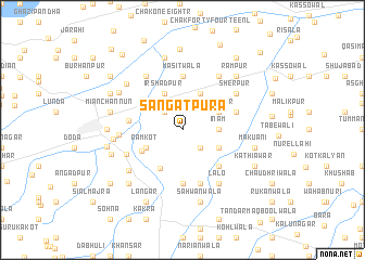 map of Sangatpura