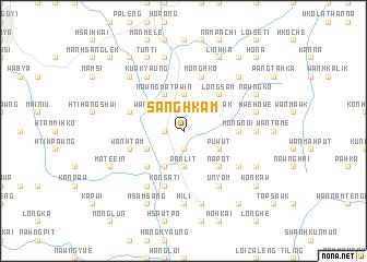 map of Sāng Hkam