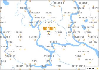 map of Sangin
