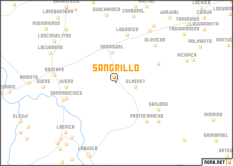 map of Sangrillo
