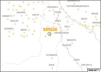map of Sangue