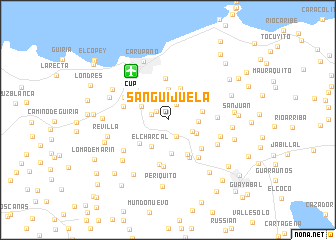 map of Sanguijuela