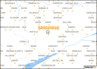 map of Sanguñedo