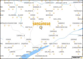 map of Sanguñedo