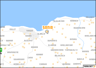 map of Sania