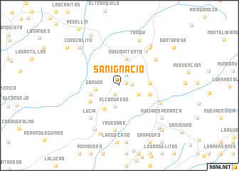 map of San Ignacio