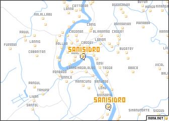 map of San Isidro