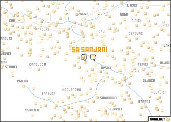map of Sanjani
