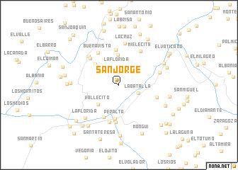 map of San Jorge