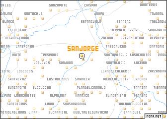 San Jorge Guatemala map nonanet