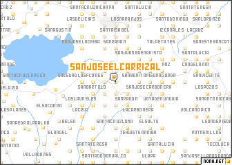 map of San José El Carrizal