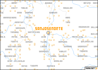 map of San Jose Norte
