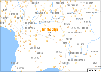 San Jose (Philippines) map - nona.net