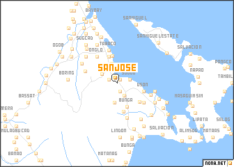 map of San Jose