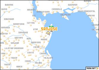 Tacloban Philippines Map.San Jose Philippines Map Nona Net