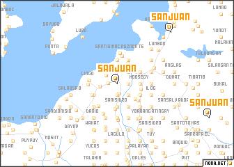map of San Juan