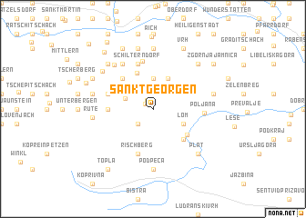 map of Sankt Georgen