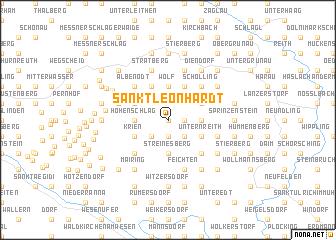 map of Sankt Leonhardt
