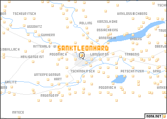 map of Sankt Leonhard
