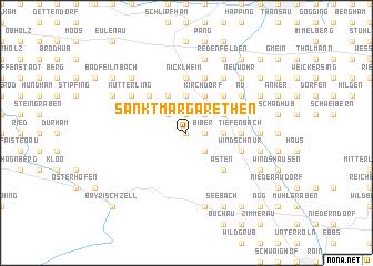 map of Sankt Margarethen