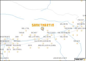 map of Sankt Martin