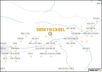 map of Sankt Michael