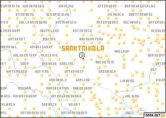 map of Sankt Nikola