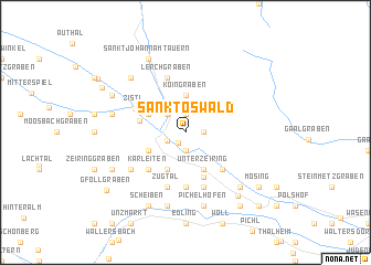 map of Sankt Oswald