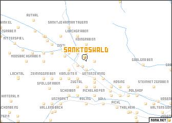 map of Sankt Oswald