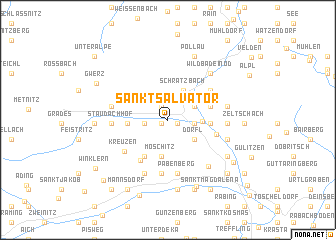 map of Sankt Salvator