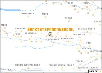 map of Sankt Stefan an der Gail