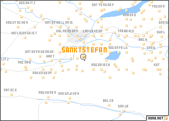 map of Sankt Stefan