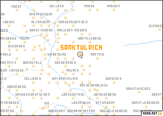 map of Sankt Ulrich
