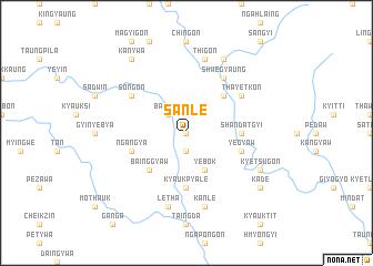 map of Sanle