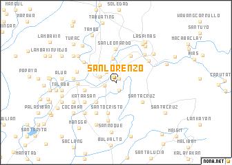 map of San Lorenzo