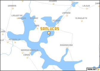 San Lucas (Mexico) map - nona.net
