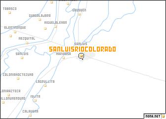 San Luis Rio Colorado Mexico Map Nona Net