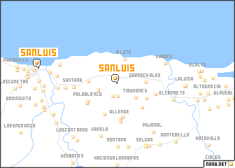 San Luis United States USA Map Nonanet - San luis usa map