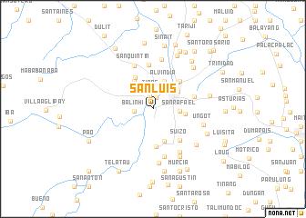 map of San Luis