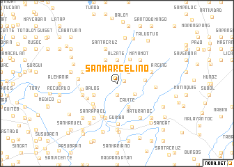 map of San Marcelino