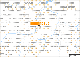 map of San Marcelo