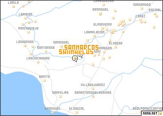 san marcos mexico map San Marcos Mexico Map Nona Net