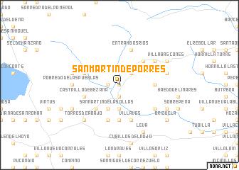 map of San Martín de Porres